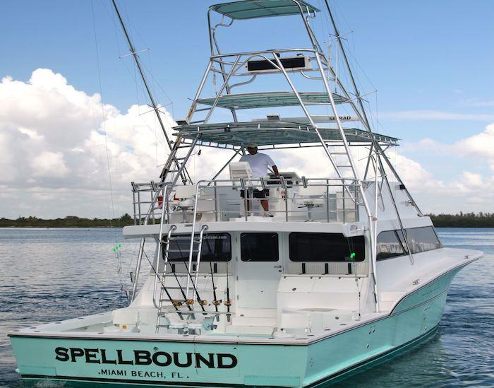 Miami Fishing Charters - Charter fishing boat Spellbound - Miami Beach